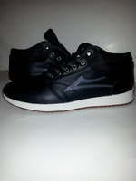 LAKAI GRIFFIN MID WEATHER MEN'S SHOES/BLACK LEATHER;ANKLE BOOTS;ALL WEATHER