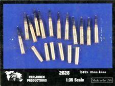Verlinden 1:35 T34/85 85mm Ammo Resin Detail #2028