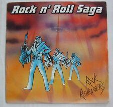ROCK REVENGERS (SP 45T)  ROCK N ROLL SAGA / GUITAR COMES FIRST