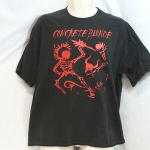 Concrete Blonde Concert Tour T-Shirt Live In Show 2003 Large