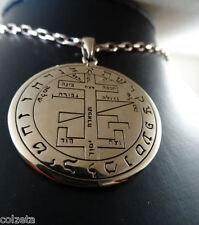 la mystique SACRED sceau de Salomon himself 3.8cm Pendentif en BRONZE by