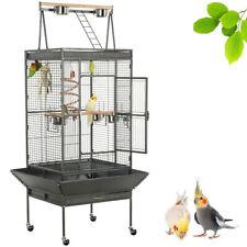 Grande Cage Oiseaux Volière Roulettes Perroquets Perruches Concure Canaris Jouet