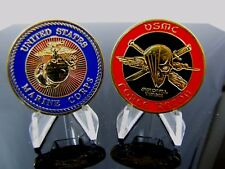 United States Marine Corps FORCE RECON Jack of All Trades. Challenge Coin
