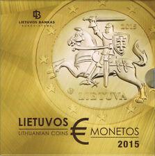 Litauen Euro Münzen Kursmünzensatz 2015