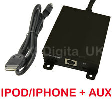 BMW iPod/iPhone Interface Adaptador + Aux E46 16:9 X3 X5 Z4 navegación 3 Series