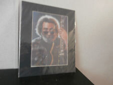 Vintage Jerry Gacia Grateful Dead Portrait by Haiyan Matted & Signed Artist.New