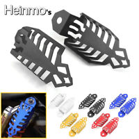 Motorcycle Fork Dust Shock Absorber Spring Covers Protector For Yamaha Kawasaki