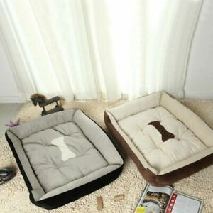 Pet Dog Bed Soft Warm Nest Kennel For Cat Warming Dog Sofa House Puppy Doggy
