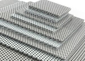 PERFORATED Sheet STAINLESS STEEL 304 Grade - 3 mm Holes 5 mm Pitch  x 9 Sizes