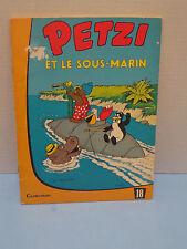 1970 PETZI ET LE SOUS-MARIN CASTERMAN PAR HANSEN #18 STORY & COLOR COMICS