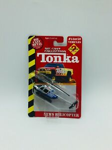 Tonka Maisto Diecast Collection News Helicopter #44/50 Tucker Time News
