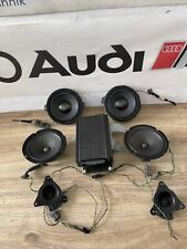 AUDI TT MK1 98-06 8N COUPE FRONT AND REAR BOSE SPEAKERS WITH AMP / AMPLIFIER