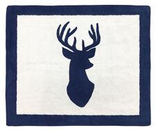Baby Kid Floor Rug For Sweet Jojo Designs Navy Blue Woodland Deer Bedding Sets