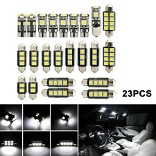 23 x Led Car Interior Light Bulbs Map Dome Trunk License Plate Lamp Kit White 6K