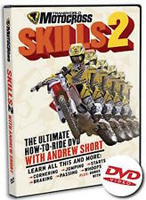 Transworld Motocross Skills 2 with Andrew Short DVD Brand New Dirtbike How To