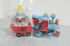 New Sealed Disney Parks 2019 Casey Jr Train Popcorn Bucket & Dumbo Sipper Cup