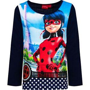 Miraculous Ladybug t-shirt manches longues 100% coton