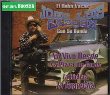 Jose Luis Gazcon El Roba Vacas Con Su Banda En Vivo Desde La Plaza de Toros CD