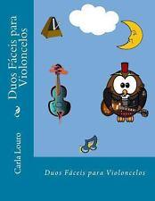 Duos Faceis Para Violoncelos (Paperback or Softback)