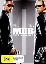 MIB - MEN IN BLACK 2 - BRAND NEW/SEALED REG.4 DVD (WILL SMITH, TOMMY LEE JONES)