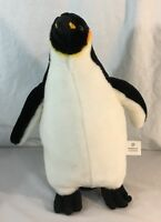 "2008 Love Earth 2008 Planet Toys Penguin 13"" Plush Soft Toy Stuffed Animal"