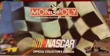 Monopoly Nascar Collector's Edition Parker Brothers Pewter Pieces Token Complete