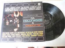 """DA HOLLYWOOD A CINECITTA""""ORTOLANI/TROVAJOLI-disco 33 giri RCA It 1963"""" OST"""