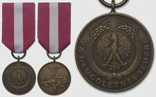 2740 POLAND POLISH IIIRP after 2007 MEDAL FOR LONG SERVICE 3th-class - original