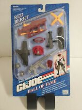 "GI Joe 12"" Hall of Fame Mission Gear RED BERET Weapons Arsenal Set New"