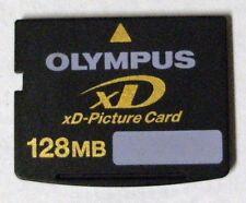 Olympus or Fuji xD 128MB Memory Card - FREE Protective Case !!