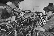 Indian 8 valve 61ci V-twin 1920 racer –Dodge City 300 miles – Gene Walker -photo