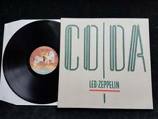 LED ZEPPELIN Coda LP Original UK 1st Swan Song A0051 A2/B 1982 Embossed NM