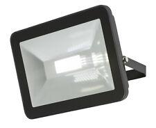 Knightsbridge 230V IP65 80W LED Foco 4000K x1 Negro