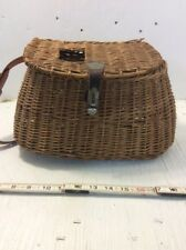 Wonderful Old Women River Cane Fish Creek with Leather Shoulder Straps