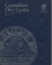 Canada 5 Cents 1961-1978   Whitman Folder with 38 unmarked slots