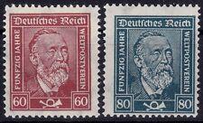 === DR Heinrich von Stephan Mi. 362-363 **, Kat. 90€ ===