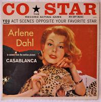 Arlene Dahl Co-Star You Act Scenes Casablanca LP NM Vinyl with Script Cheesecake