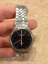 VINTAGE CARAVELLE MENS AUTOMATIC WATCH RUNS WELL