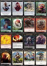 1x Each - Dominaria - TOKEN - COMPLETE SET = 16 Total TOKEN Cards PREMADE