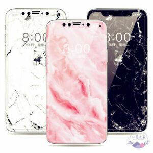 iPhone 11 Granite Marble Screen Protector 3 Color Tempered Glass iPhone 8 Plus