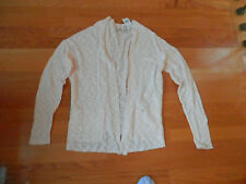 NWT Hollister Royal Palms Open Front Cardigan Sweater White, Peach or Gray Aztec