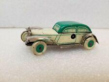 VINTAGE GERMAN WINDUP TIN CAR DRGM WORKING