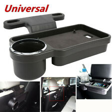 1*Car Rear Back Seat Table Drink Food Cup Tray Holders Table Stand Mount Plastic
