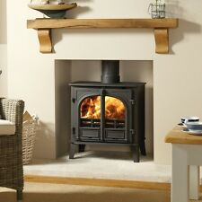 Stovax Stockton 8 Double Two Door Multi Fuel Wood Burning Stove