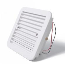 12V RV Caravan Motorhome Side Air Trailer Vent Ventilation Cooling Exhaust Fan