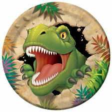 Dinosaurs Paper Party Plates