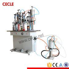 50-500ml Metal Aerosol Spray Can Filling Machine Full Pneumatic
