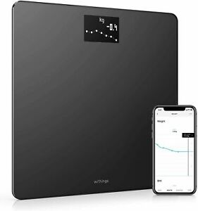Withings Body Wi-Fi Smart Bathroom Scales. WBS06. Tracks BMI / Weight