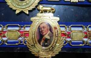 SUPER BANTAM WEIGHT Lord Boxing Belt Replica Adult Size