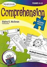 Comprehension, Years 4-8 by Elaine McEwen (Paperback, 2008)